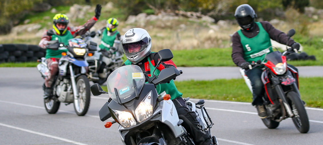 Sweden: SMC's motorcycle training gets a European quality