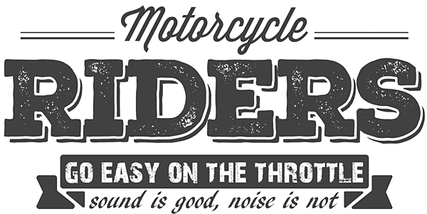 Sound is a sensitive issue in our motorcycle world - FEMA